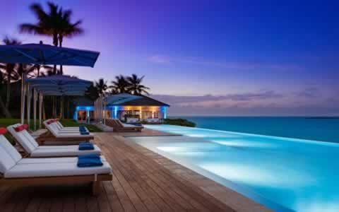 Ocean Pool by Night