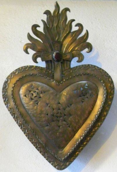 : Things Heart, Heart Afir, Heart Milagros, Antiques Brass, Sacred Heart, Ex Voto, Icons Inspiration, Open Heart, Milagros Heart
