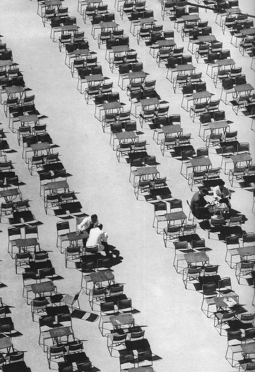 Sintagma Square, Athens, 1954