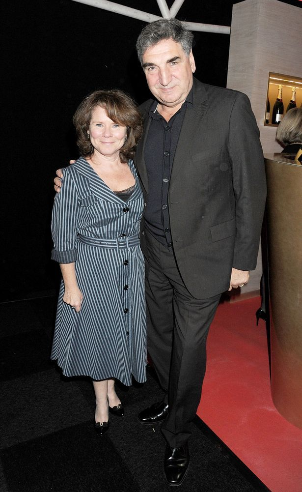 What the what?! Mr Carson (from Downton Abbey) and Delores Umbridge are married?! Tis and outrage!! :D