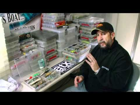 How to organize tackle and create a day box bass fishing for Fishing tackle organization