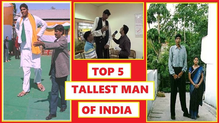 Top 5 Tallest Man in India History abounds with tales of hugely tall men and women but its only in the past couple of hundred years that weve had medical explanations for the phenomenon. Pituitary gigantism Marfan syndrome eunuchoid tallness Sotos syndrome and acromegaly are all conditions that can cause those afflicted to grow beyond the human norm. Pituitary gigantism is by far the most common cause of extreme height. It usually occurs due to over-secretion of growth hormone from cells in…