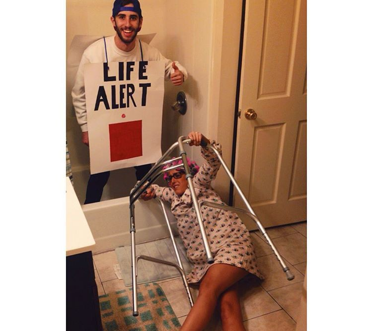 Image result for life alert costume