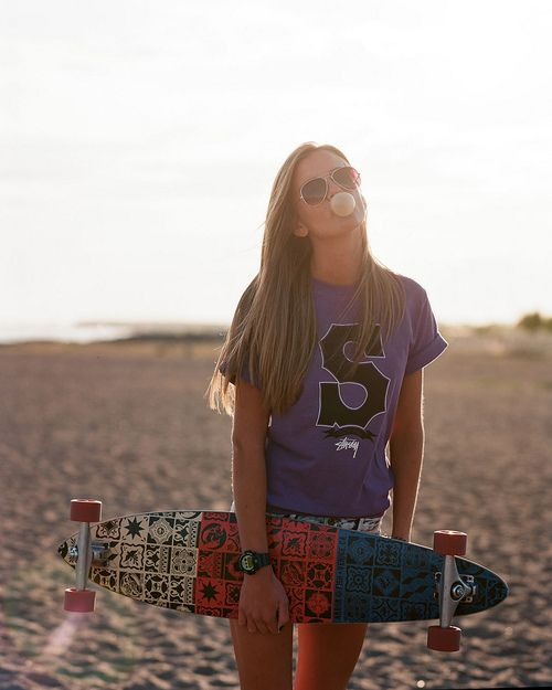 """If you just told me """" You can't Longboard""""....I think I would just kill over and die..."""