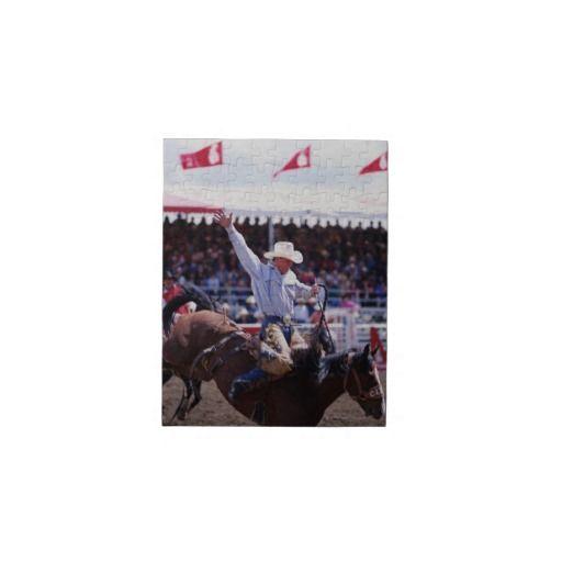 Cowboy At A Rodeo Jigsaw Puzzle Cowboys Jigsaw Puzzles