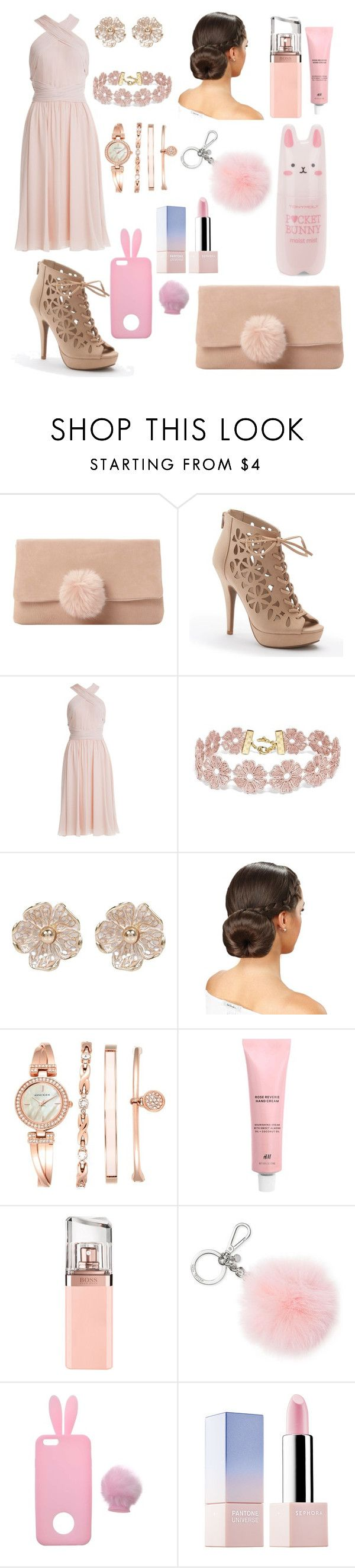 """""""Bunny Outfit"""" by amylovesptx ❤ liked on Polyvore featuring Dune, Apt. 9, Jason Wu, BaubleBar, River Island, Anne Klein, HUGO, Michael Kors, Miss Selfridge and Sephora Collection"""