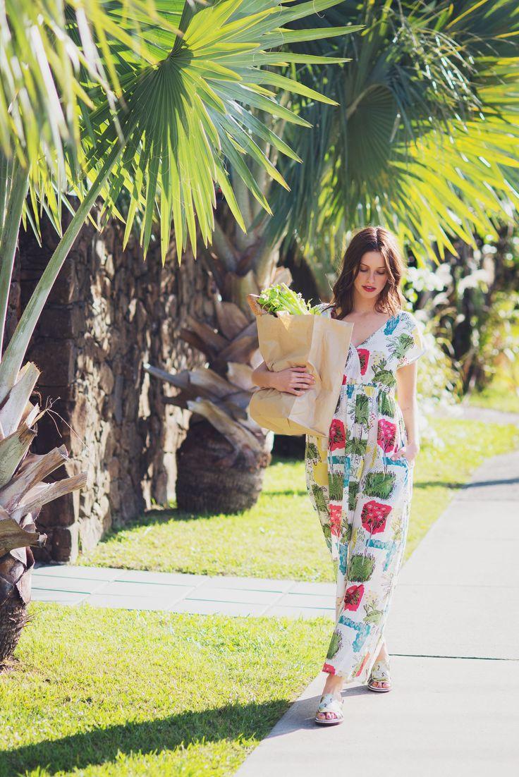 Maxi dress in Paradise.