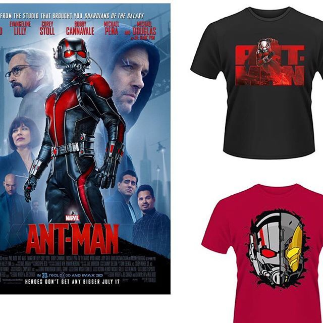 """Special offer get both official Antman tees for £32 saving £4 and get free shipping anywhere in Europe. First time orders get an additional 10% off (message us pre ordering we'll do the rest)  #antman #hankpym #paulrudd Like this? I'm selling it on @depopmarket. Search for me: diversions on #depop ✌ "" Photo taken by @diversionsgifts.co.uk on Instagram, pinned via the InstaPin iOS App! http://www.instapinapp.com (07/23/2015)"