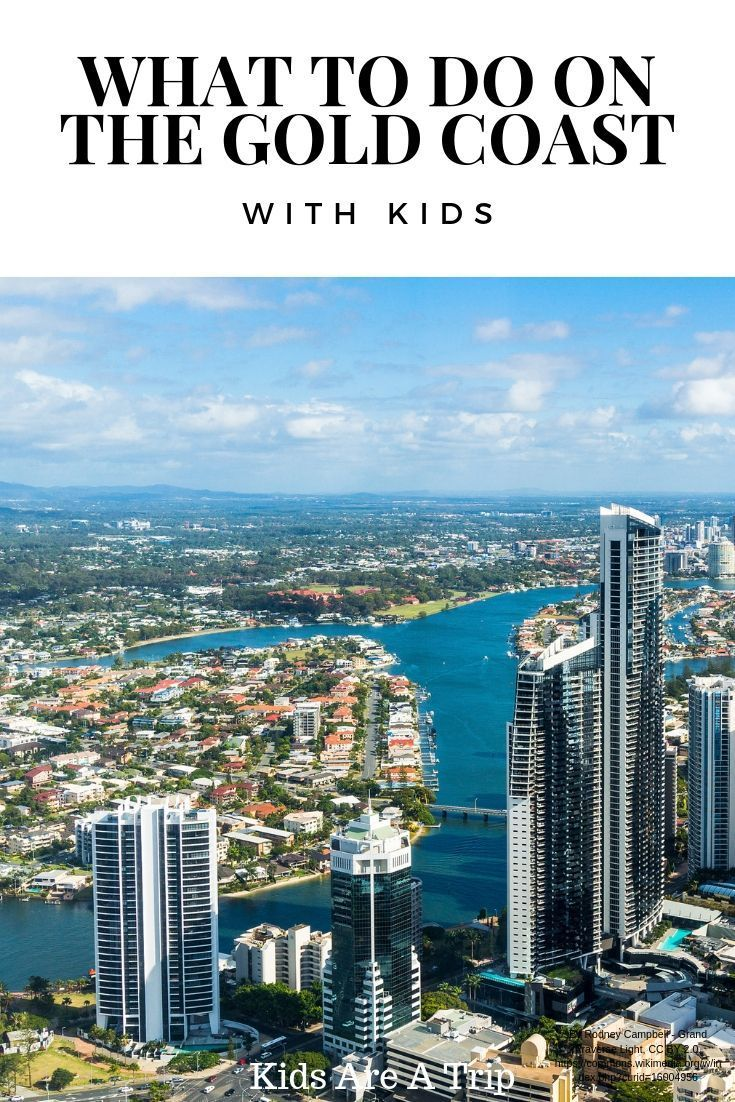 The Best Way to Spend a Weekend on the Gold Coast with Kids