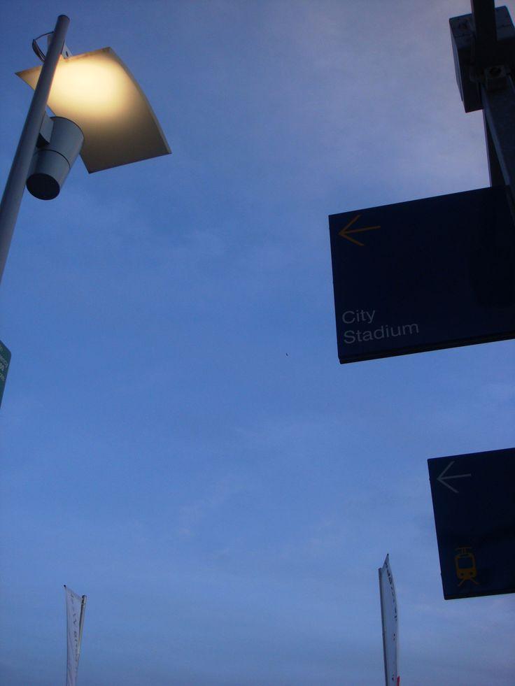 Docklands at nite