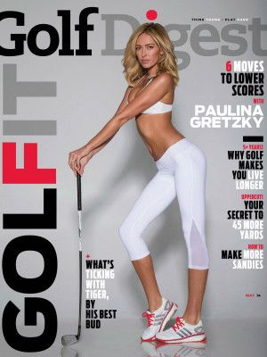 Paulina Gretzky's sexy Golf Digest shoot angers LPGA pros | New York Post