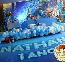 Resultado de imagen para festa fundo do mar decoração