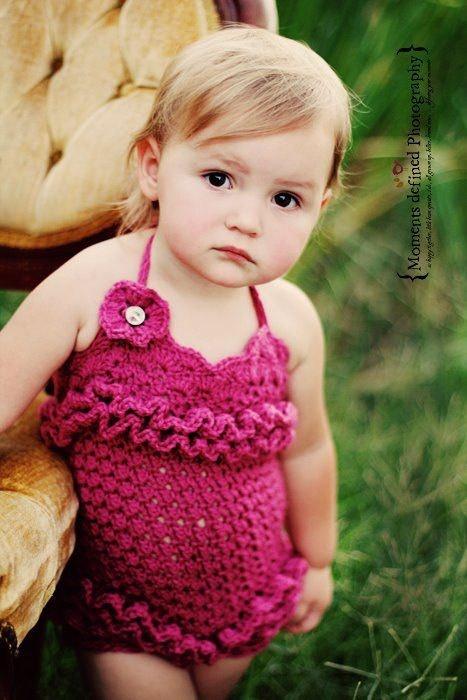 250 Best Crochet Rompers Images On Pinterest Babies