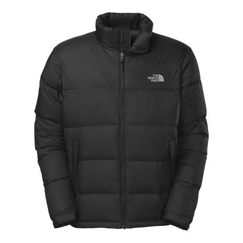 The North Face MENS NUPTSE JACKET C759   The North Face MENS NUPTSE JACKET C759 The North Face Men's Nuptse Jacket. Classic, down insulated jacket with high-loft baffles now sports an updated fit. 700 fill goose down insulation with nylon plain weave fabric. Double-layer taffeta on shoulders. Stowable in internal chest pocket. Secure-zip hand pockets. Internal chest pocket. Velcro adjustable cuff tabs. Hem cinch-cord. Zip-in-compatible integration with complementing garments from The..
