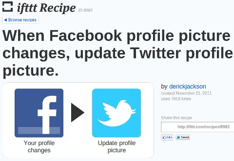 change twitter profil icon if facebook does