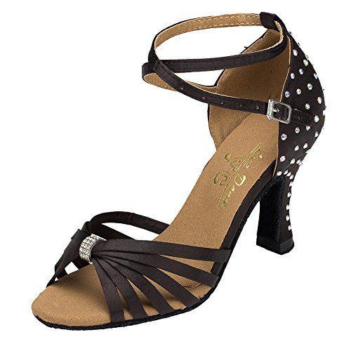 iBaste Damen Latin Satin Dance Shoes High Heel Sandale Pumps Ballschuhe Tanzschuhe - http://on-line-kaufen.de/ibaste-9/ibaste-damen-latin-satin-dance-shoes-high-heel-6