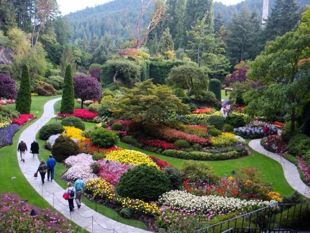 Buchart Gardens, BC