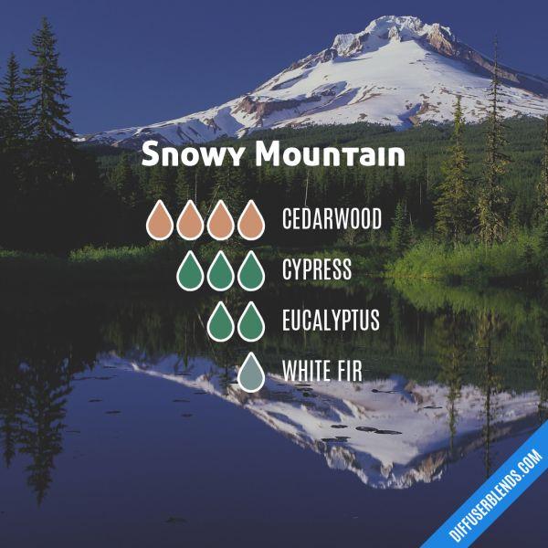 Snowy Mountain - Essential Oil Diffuser Blend