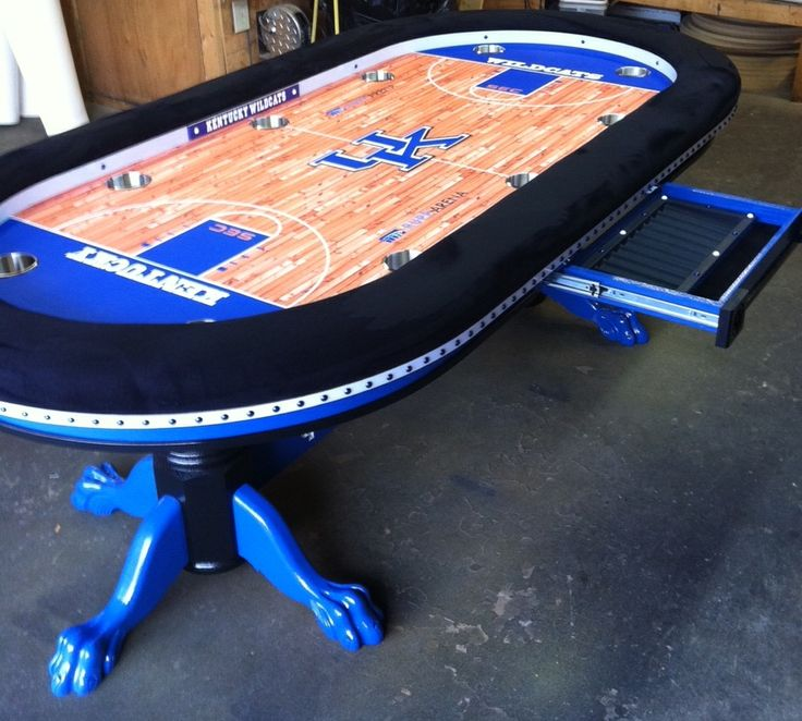 84 Best Sports Themed Poker Tables Images On Pinterest