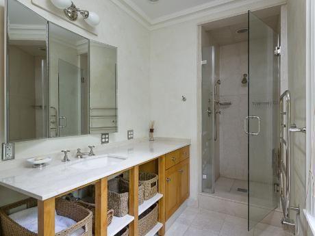 Beautiful Modern Bathroom Design 4209 Lorraine Avenue Dallas Tx 75205 Highland Park Leeca