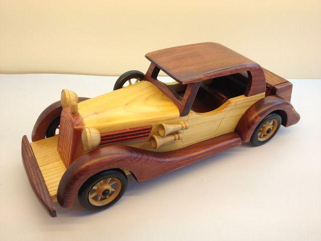 Античная классический автомобилей автомобилей ручной работы деревянные украшения дома подарок(China (Mainland))
