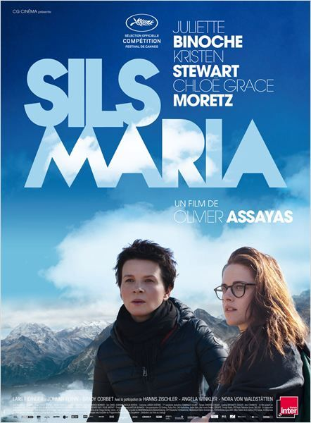 """Sils Maria .2014. * * * """"Clouds of Sils Maria"""" (original title) At the peak of her international career, Maria Enders is asked to perform in a revival of the play that made her famous twenty years ago."""