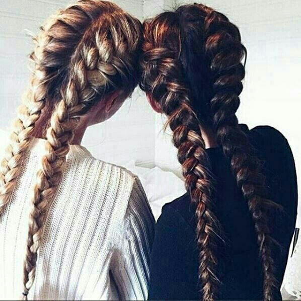 double french braids are a perfect hairstyle for any summer outfit!