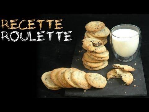 Cookies aux pépites de chocolat super moelleux - Recette de cuisine Marmiton : une recette