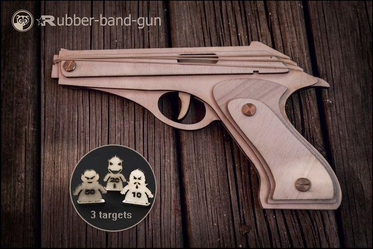 Star Trek Gift, Rubber band Gun And Targets. Husband Gift, Boyfriend Gift, Boyfriend Star Wars Fan, Gamer Boyfriend, Christmas Geek Gift by DecolorisS…