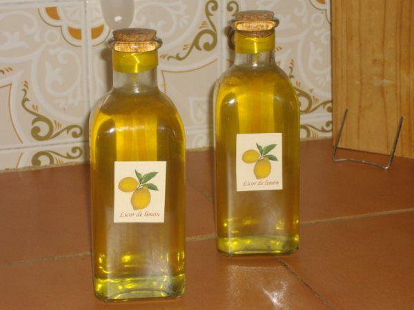 Licores de limón.