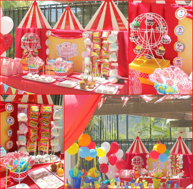 Best Wu Circus Party Images On Pinterest Circus Party Circus - Circus birthday party ideas pinterest
