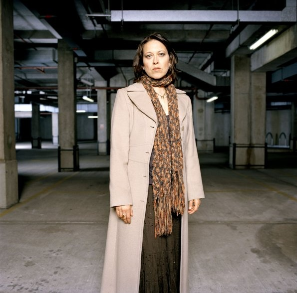 Nicola Walker as Ruth Evershed.