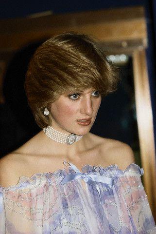 Princess Diana, 1981 in Bellville Sassoon dress