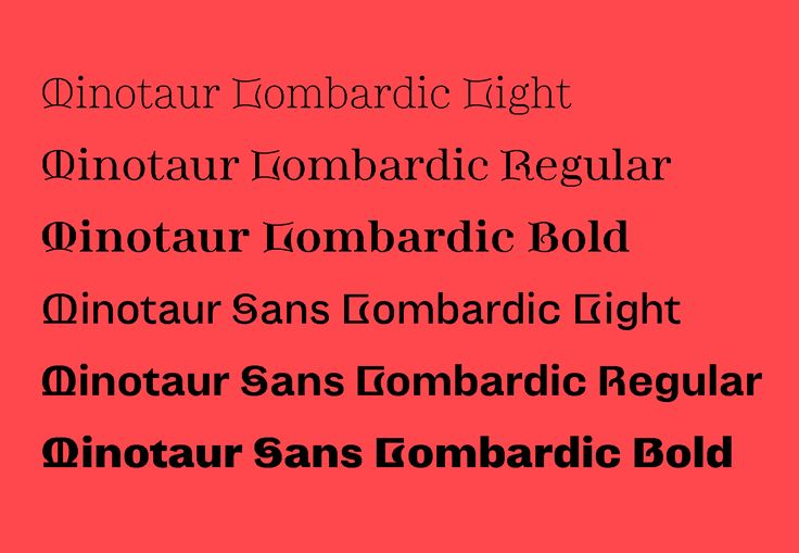 Production Type - The new Minotaur Lombardics: decadent opportunities