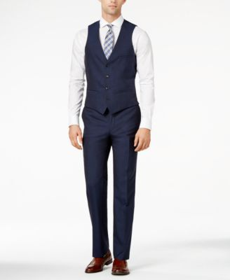 Bar III Midnight Blue Slim-Fit Suit Separates | Test | Pinterest