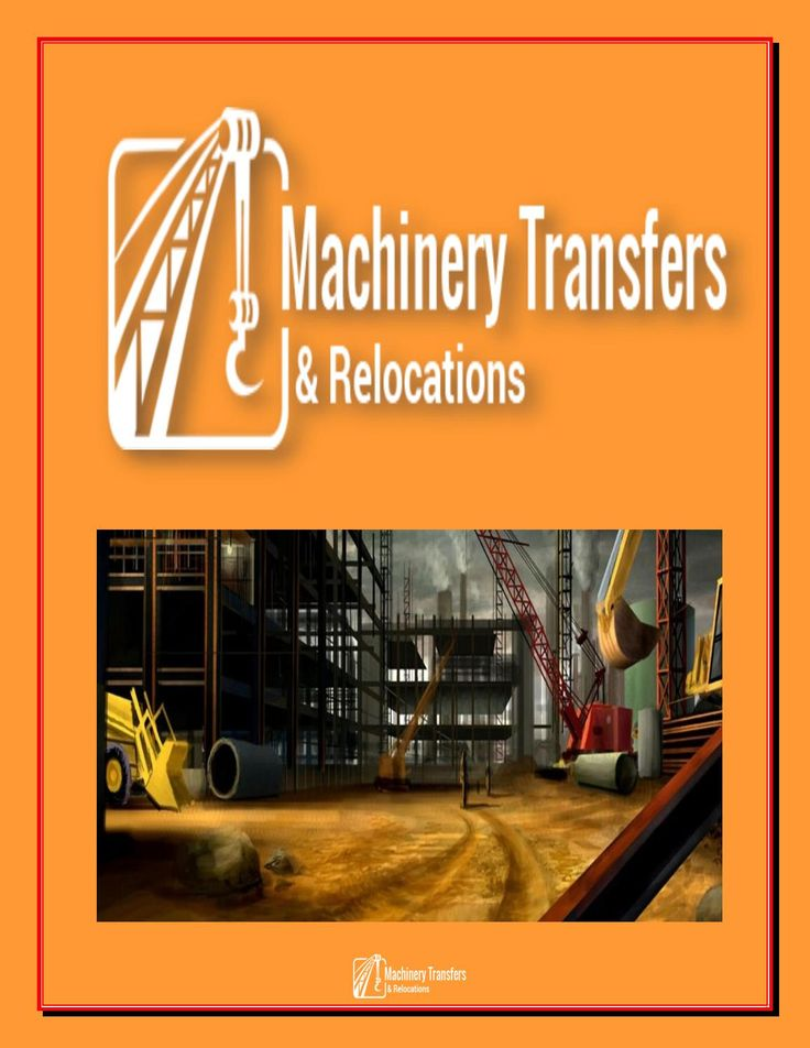 If you want to #remove your heavy #machineries to one place to another place then you must contact with #MachineryTransfers & #Relocations. We will take care about every product while #shifting. There are so many websites have on google, you should select the right one according to service. Please #visit machinery-relocations.com.au.