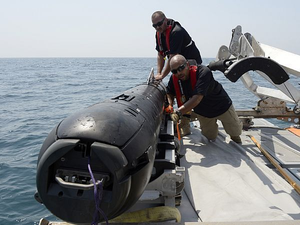 This week, the Navy announced that the MK18 Mod 2 Kingfish underwater unmanned vehicle has been deployed for operations in the 5th Fleet area, a region covering about 2.5 million square miles of water area, which includes the Arabian Gulf, Red Sea, Gulf of Oman, and parts of the Indian Ocean.