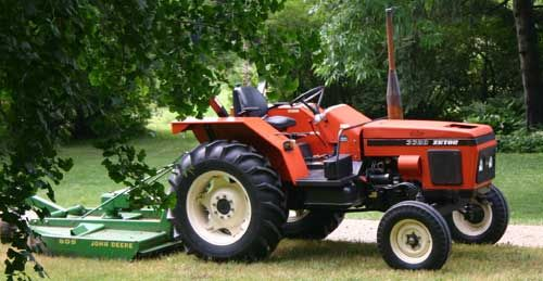 Zetor tractor. I've driven this exact one:)