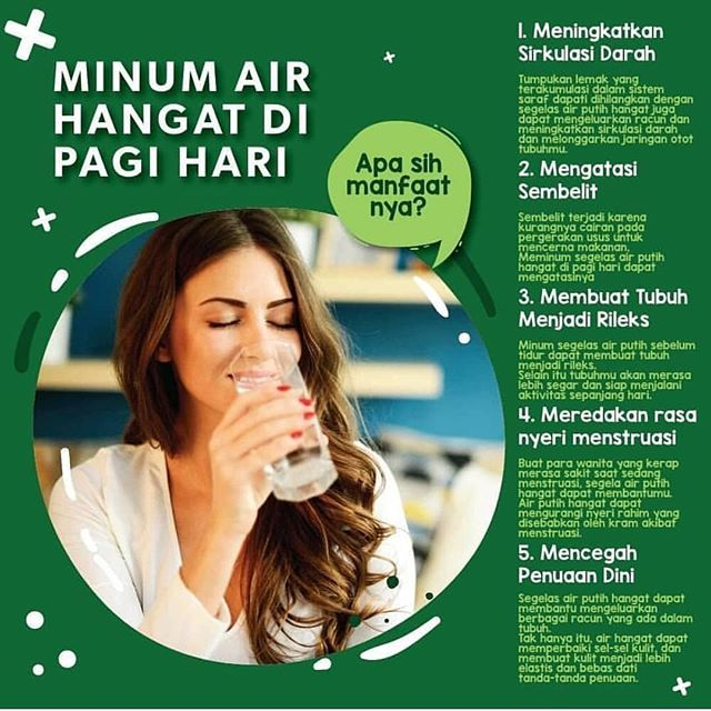 49 Manfaat Minum Air Hangat Pagi Hari Background Content