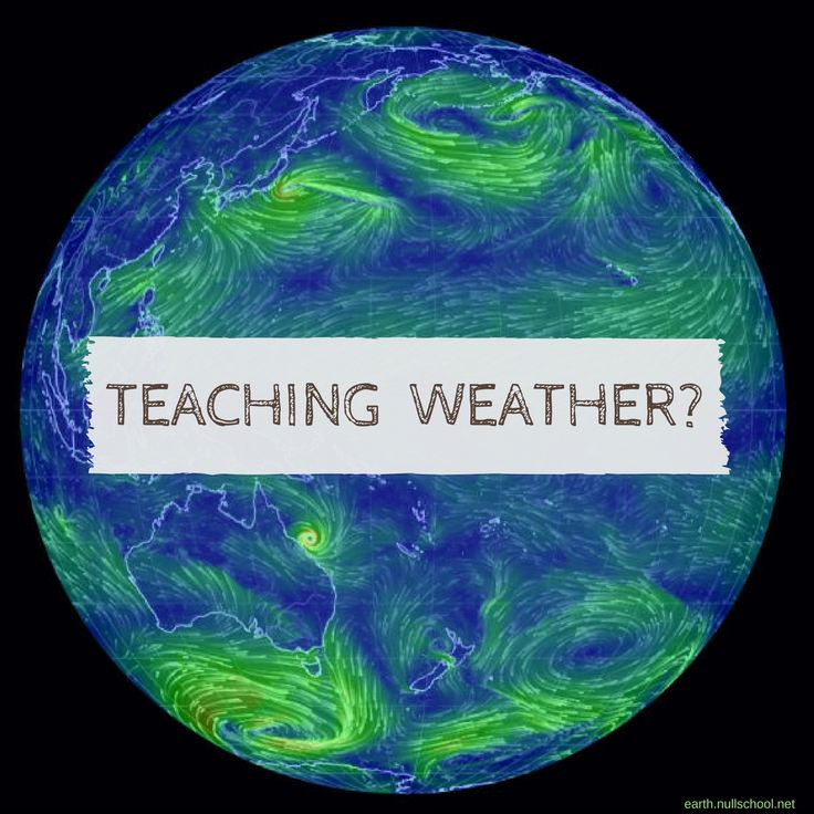 Teaching a weather topic at school? This animated wind map of the USA could be interesting to overlay with a traditional synoptic chart to show the implications of high and low pressure systems on wind speed and direction. You can also get an Australian version that's live at earth.nullschool.net