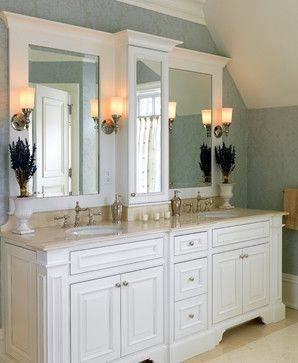 marble surround under tower  Master Bathrooms - traditional - bathroom - boston - Jan Gleysteen Architects, Inc