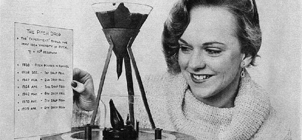 Pitch Drop Experiment Record
