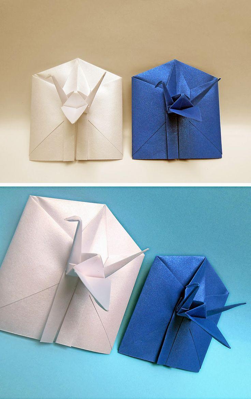 mas origami: Sobres en origami 2