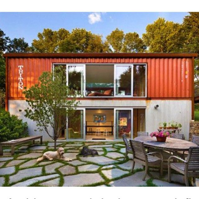 Shipping container homes containers pinterest ps - Casas de containers ...