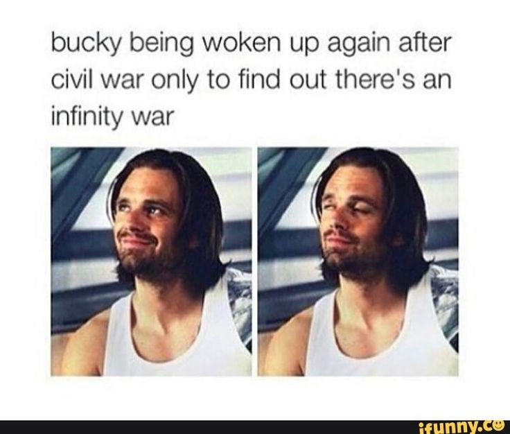 Sorry Bucky but we need you