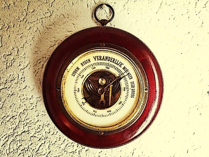 Oude barometer van mijn grootouders