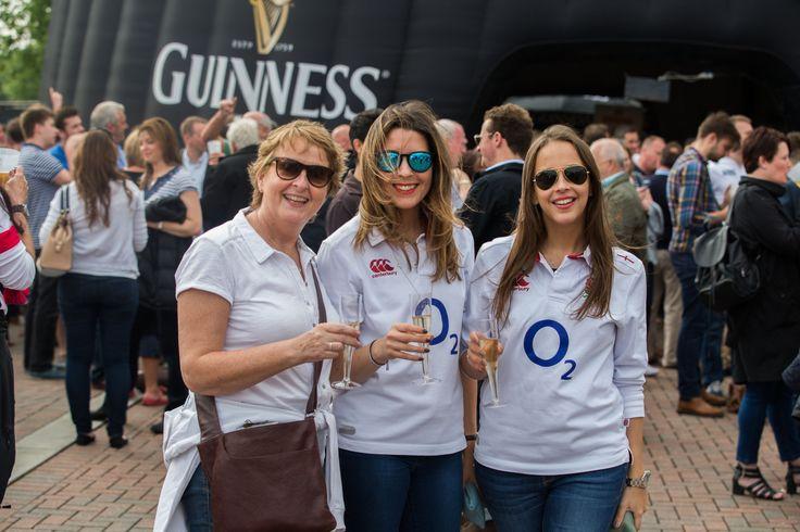 Glamorous England Supporting ladies joining us at Twickenham Stadium