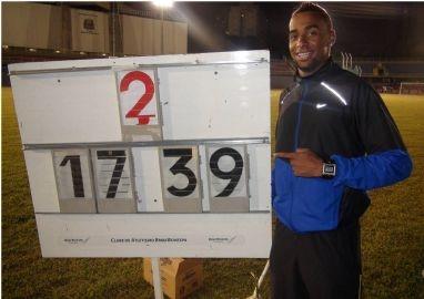 Jonathan Silva obtém índice no salto triplo para os Jogos Olímpicos Londres 2012 - 01/04/2012 Crédito: Tânia Moura/CBAt