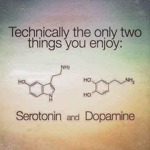 On #enjoying #dopamine #serotonin #love #joy #happiness #chemestry #chemestrylove