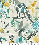 Kelly Ripa Home Upholstery Fabric 54''-Pool Flora Flaunt